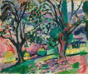 Henri Matisse - Olive Trees at Collioure