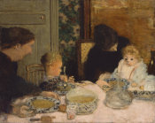 Pierre Bonnard - The Children's Meal
