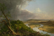 Thomas Cole - View from Mount Holyoke after a Thunderstorm - The Oxbow