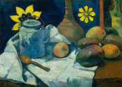 Paul Gauguin - Still Life with Teapot and Fruit