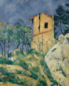 Paul Cézanne - The House with the Cracked Walls