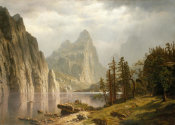 Albert Bierstadt - Merced River, Yosemite Valley