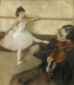 Edgar Degas - The Dance Lesson