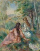 Auguste Renoir - In the Meadow