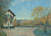 Alfred Sisley - View of Marly-le-Roi from Coeur-Volant
