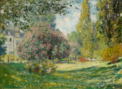 Claude Monet - Landscape: The Parc Monceau