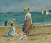 Auguste Renoir - Figures on the Beach