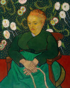 Vincent van Gogh - La Berceuse (Woman Rocking a Cradle)