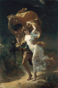 Pierre-Auguste Cot - The Storm