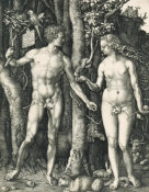 Albrecht Dürer - Adam and Eve