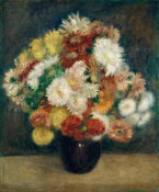 Auguste Renoir - Bouquet of Chrysanthemums