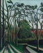 Henri Rousseau - The Banks of the Bièvre near Bicêtre