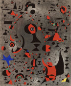 Joan Miró - Constellation: Toward the Rainbow, 1941