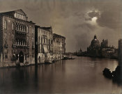Carlo Naya - Night View of the Grand Canal, Venice, ca. 1875