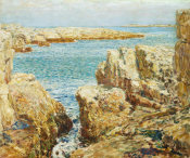 Childe Hassam - Coast Scene, Isles of Shoals