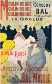 Henri de Toulouse-Lautrec - Moulin Rouge: La Goulue, 1891