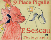 Henri de Toulouse-Lautrec - The Photographer Sescau (Le Photographe Sescau), 1894