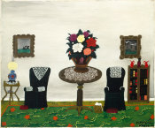 Horace Pippin - Victorian Interior II