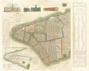 James DeForest Stout - The City of New York: Longworth's Explanatory Map and Plan