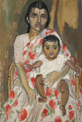 Alice Neel - Mother and Child, ca. 1962
