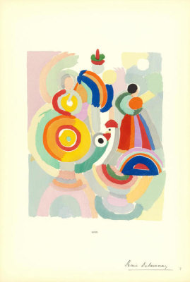 Sonia Delaunay - Plate 7 from Sonia Delaunay: Ses peintures, Ses objets, Ses tissus simultanés, Ses modes