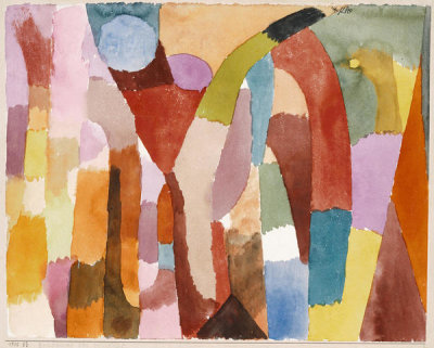 Paul Klee - Movement of Vaulted Chambers