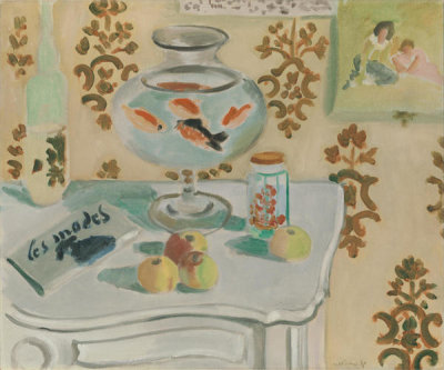 Henri Matisse - The Goldfish Bowl