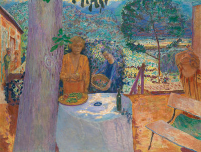 Pierre Bonnard - The Terrace at Vernonnet