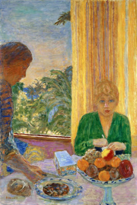 Pierre Bonnard - The Green Blouse