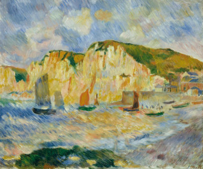 Auguste Renoir - Sea and Cliffs