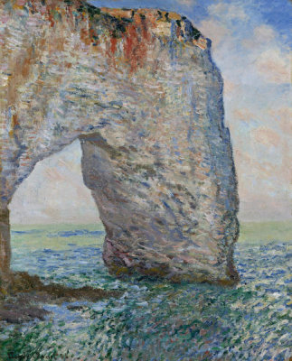 Claude Monet - The Manneporte near Etretat