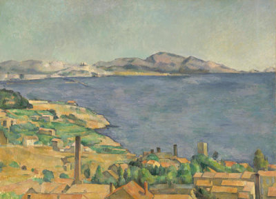 Paul Cézanne - The Gulf of Marseilles Seen from L'Estaque