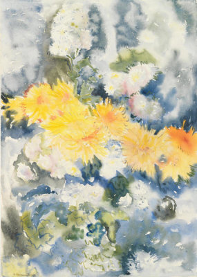 Charles Demuth - Yellow and Blue