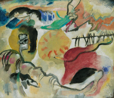 Vasily Kandinsky - Improvisation 27 (Garden of Love II)