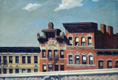 Edward Hopper - From Williamsburg Bridge