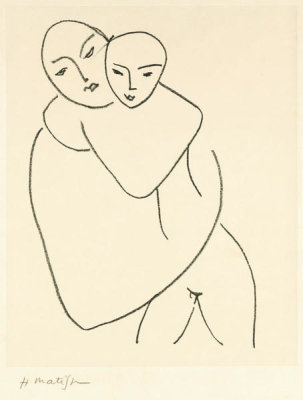 Henri Matisse - Virgin and Child