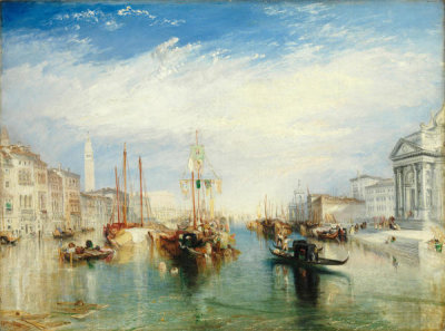 Joseph Mallord William Turner - Venice, from the Porch of Madonna della Salute
