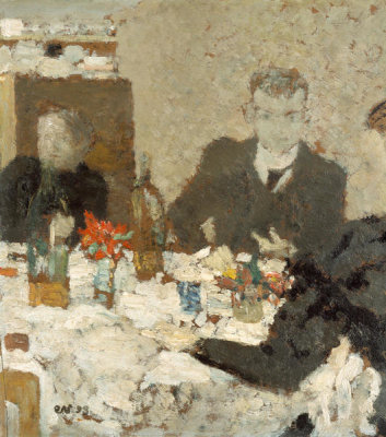 Edouard Vuillard - At Table