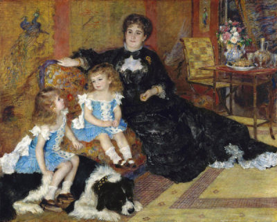 Auguste Renoir - Madame Georges Charpentier and Her Children