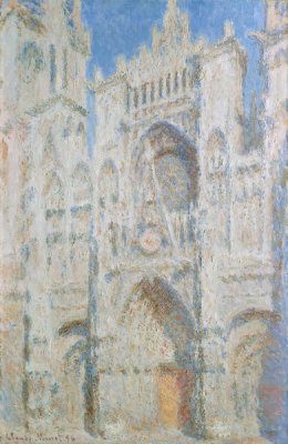 Claude Monet - Rouen Cathedral: The Portal (Sunlight)