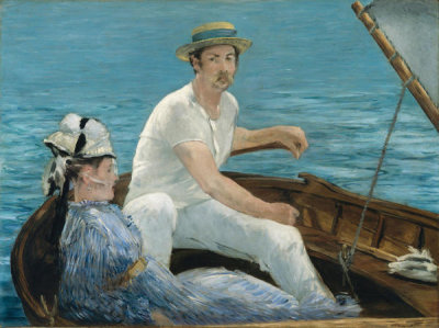 Edouard Manet - Boating