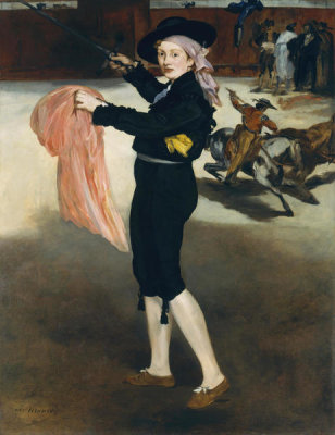 Edouard Manet - Mademoiselle V...in the Costume of an Espada