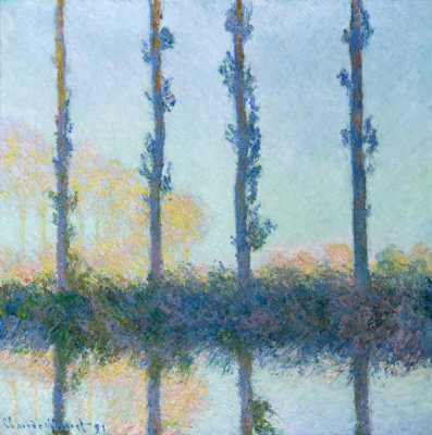 Claude Monet - The Four Trees