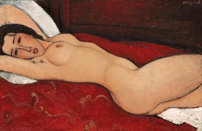 Amedeo Modigliani - Reclining Nude
