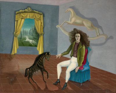 Leonora Carrington - Self-Portrait, ca. 1937-38