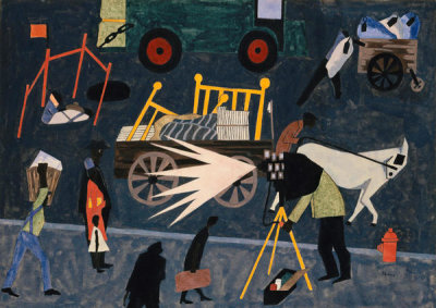 Jacob Lawrence - The Photographer, 1942