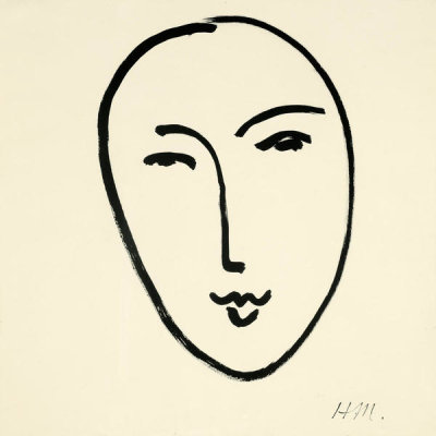 Henri Matisse - Large Face (Mask)