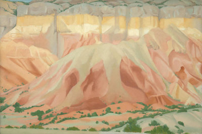 Georgia O'Keeffe - Red and Yellow Cliffs
