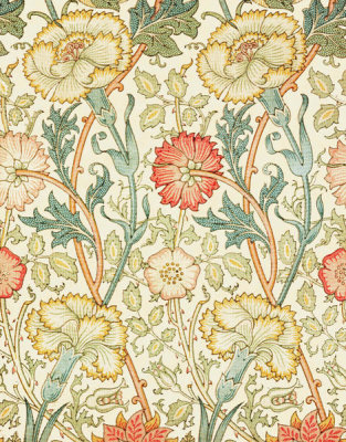 William Morris - Pink and Rose