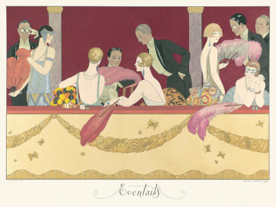 George Barbier - Éventails